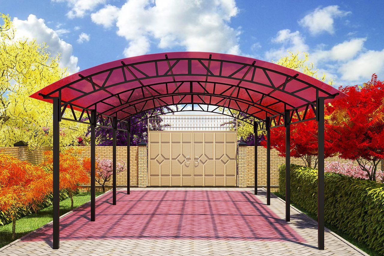Применение сотового поликарбоната в частном строительстве